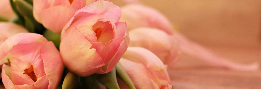 livraison de fleurs pour la Saint-Valentin